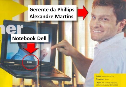 Alexandre Martins e o notebook Dell